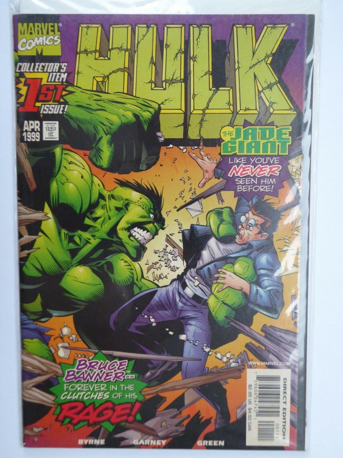 Hulk Collector's Item #1 The Jade Giant (Apr 1999, Marvel Comics) Vintage