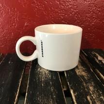 Starbucks Mug Coffee Cup Tea White Logo Minimalist Collectible Drink Cle... - $19.79