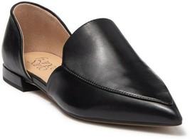 Franco Sarto Women D'orsay Flats Nea Size US 10M Soft Black Leather - $29.56