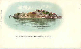 Alcatraz Island San Francisco 1898 Private Mailing Card - $10.00