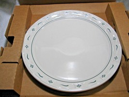 LONGABERGER Woven Traditions Heritage Green NOS Cake Plate/Pizza Pan #36587-Home - $69.50