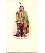 Sitting Bull Lakota Chieftain Post Card vintage 1906 - $15.00