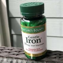 Nature's Bounty Gentle Iron 28 mg 90 Capsules EXP 7/2022 - $10.79