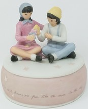 Vintage FLAVIA WEEDN Music Box Plays MEMORY Willitts Galleries Style 926... - $39.59