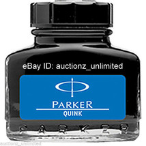 6 Parker Quink - Blue Ink - Bottle ( 30 Ml )- 1 oz - New Sealed Pack - 6... - $23.49