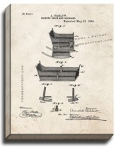 Rocking Chair And Carriage Patent Print Old Look on Canvas - $69.95+