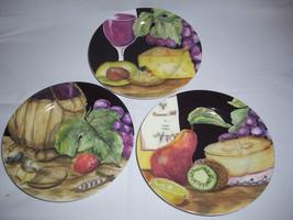 3 American Atelier Napa Salad Plates pattern# 5309 - $10.64