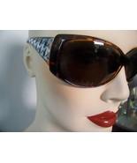 Sunglasses UV400 with Hounds Tooth Sidebars Bro... - $4.00