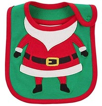Carter's Just One You Baby Christmas Bib Boy/Girl (Baby Santa) - $5.91