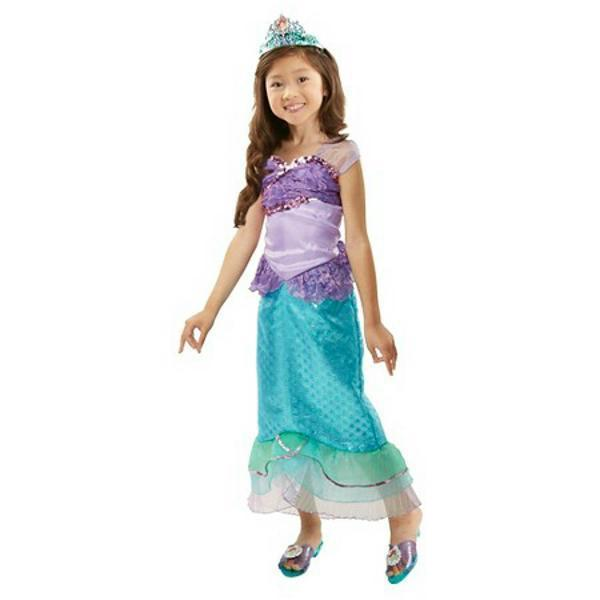 Caribbean Pirate Princess Costume Dress S 4-6 M 8-10 NIP