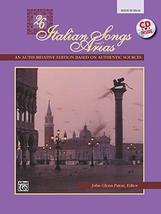 26 Italian Songs and Arias: Medium High Voice, Book & CD [Paperback] Pat... - $7.74
