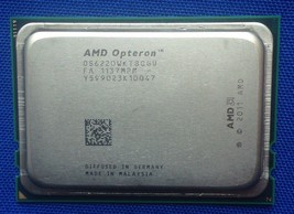 AMD Opteron 6220 8 Core 3Ghz OS6220WKT8GGU 8M/L2 16M/L3 Server CPU - $43.00