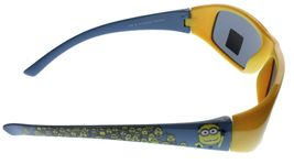 New Despicable Me Boys Kids Youth Blue Yellow 1 in a Minion 100% UV Sunglasses image 3
