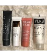 4 Pc Travel Size Face Masks: Georgette Klinger, Sand & Sky, Verb, & Gen ... - $14.80