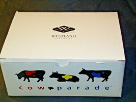 Cows on Parade Udderly Groovy Lady Belle Bennett Westland Giftware # 9170 AA-191 image 3