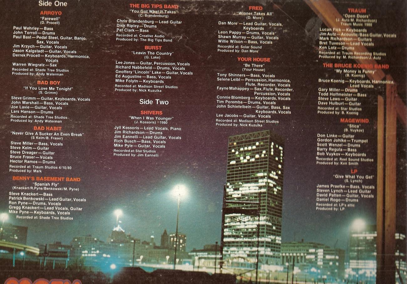 LP--Various 93qfm Hometown Album