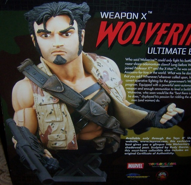 Weapon X Wolverine Ultimate Bust Marvel NEW