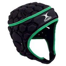 Gilbert Falcon 200 Headguard - Black/Green (Medium) image 2