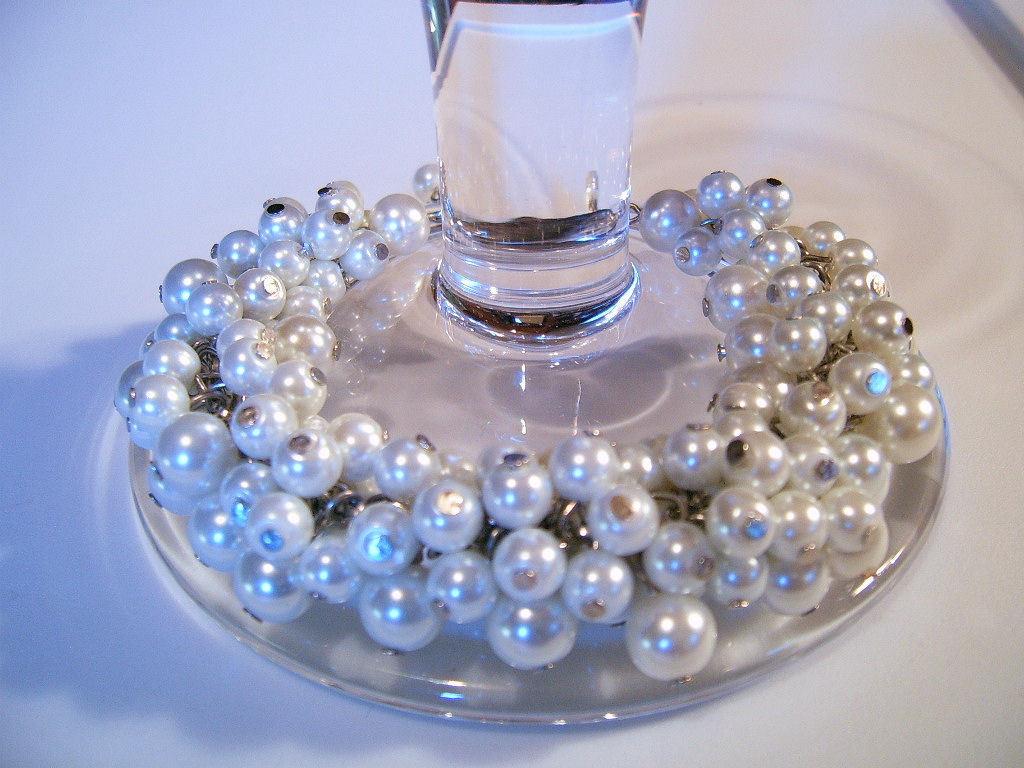 Bracelet SeaShell Pearls Gold