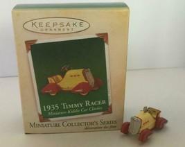 "Hallmark Keepsake ""1935 Timmy Racer"" Car Miniature Ornament 2005 - £5.29 GBP"