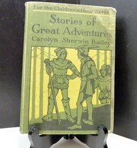 Vintage Milton Bradly Co Stories of Great Adventures by Carolyn Sherwin ... - $42.65