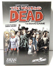 Robert Kirkman's The Walking Dead the Board Game Z-Man Games Skybound Comic - $23.21