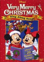 Disney's Sing Along Songs - Very Merry Christmas Songs DVD