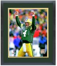 "Brett Favre Green Bay Packers Circa 1995 - 11"" x 14"" Matted and Framed P... - $43.55"