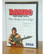 Rambo First Blood - Sega - $15.95