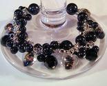 Bracelet black pearl azure beads thumb155 crop