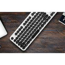 Actto KBD47 USB Wired Retro Korean English Keyboard (White) image 3
