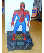 Spider-Man Motion-talking Bank w/Clock (2002) - $59.99