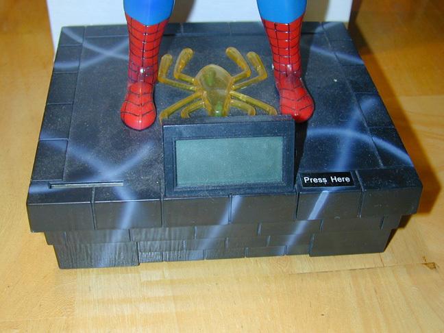 Spider-Man Motion-talking Bank w/Clock (2002)