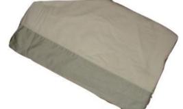 Ralph Lauren Wentworth Cuff Eucalyptus Green & White Queen Flat Sheet Euc - $39.57