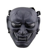 DC11 Japanese Ghost King Samurai Military Tactical Skull Full Face Prote... - $25.69