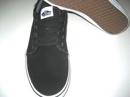 Size Skate Low Vans Canvas Shoes White Pro NWT Suede Black 13 Mens Chukka wq0Ewx8vr
