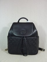 NWT Tory Burch Black Leather Marion Quilted Backpack - $493.00