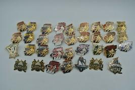 NHL Peter David Pins Lot of 34 - Various US Teams Lapel Pin Badge Cloiso... - $164.29