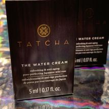 2x Tatcha 5mL THE Water CREAM mini Great For ALL Skin Types image 3