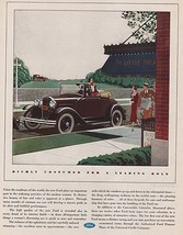 Orig Vintage Magazine AD/ 1931 Ford Convertible Cabriolet Ad - $13.00