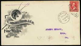 1900 Fine Horse Whips Gargill Cook & Co. Advertising Cover - Stuart Katz - $50.00