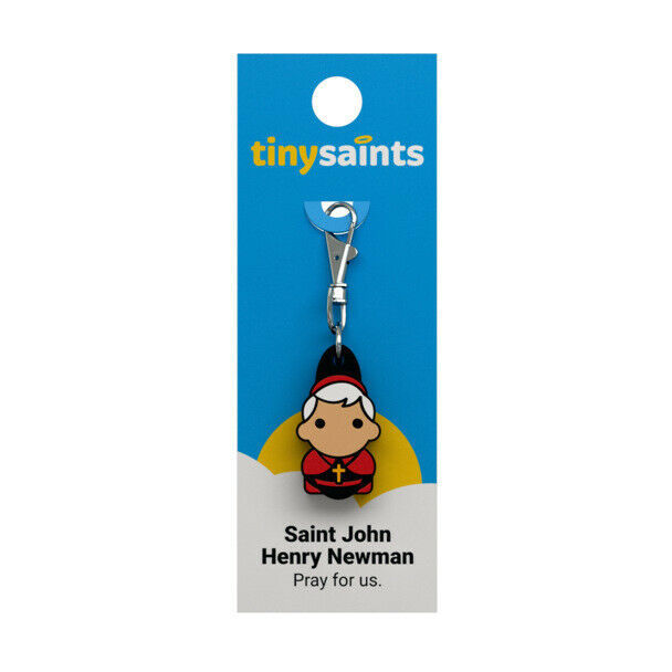 Primary image for Tiny Saints Saint John Henry Newman CHARM - Bracelets, Backpacks, Gifts, NEW