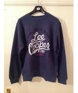 Lee Cooper Crew Logo Sweater / Mens  - Sizes : M/XL - Colour : Vintage Blue - $15.06