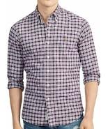 Ralph Lauren Polo Men's Classic Fit Plaid Cotton Long Sleeve Shirt Plum/... - $49.49