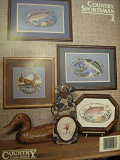 Country Sportsman 2 Wildlife Cross Stitch Pattern Booklet