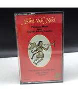 Christmas carols cassette vintage music media Sing we Noel England Joel ... - $19.80
