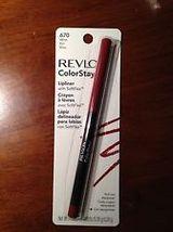 NEW Revlon ColorStay Lipliner with SoftFlex - Wine #670 - $5.50