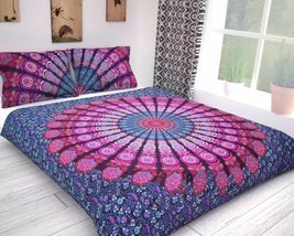 traditional fabrics Single Size Mandala Bed Cover Bohemian Decor Bedspre... - $24.66
