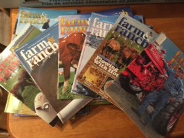 Farm and Ranch Living  Magazines - Lot of 25 - 2007 - 2014 Variety of Ep... - $30.00