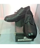 Ferrera Couture Italian Collection Mens Black Tie Up Dress Shoes Size 12... - $19.75